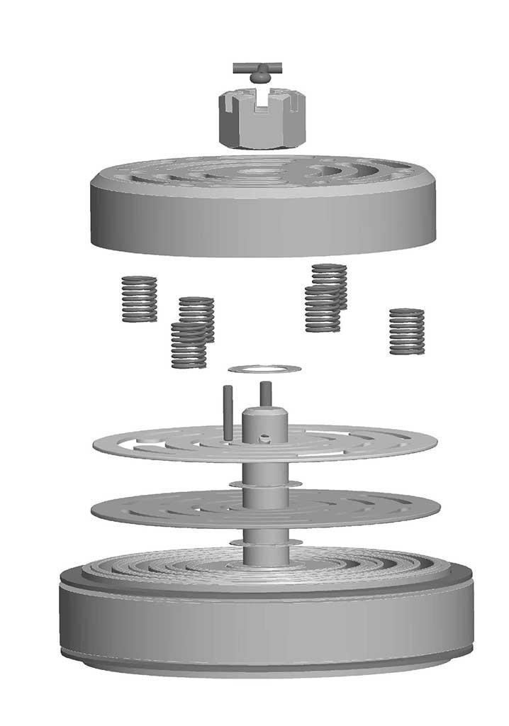 Compressors Valve 3D