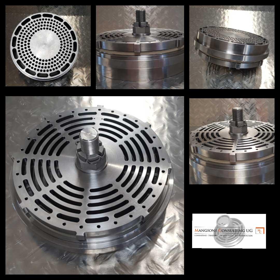 discharge valves PIK